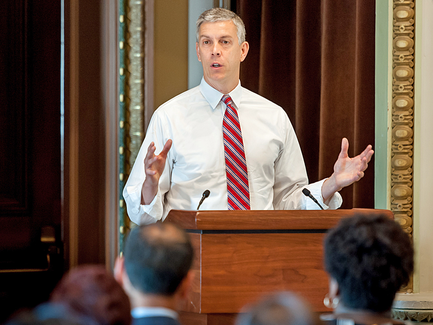 U.S. Secretary of Education Arne Duncan | W.K. Kellogg Foundation
