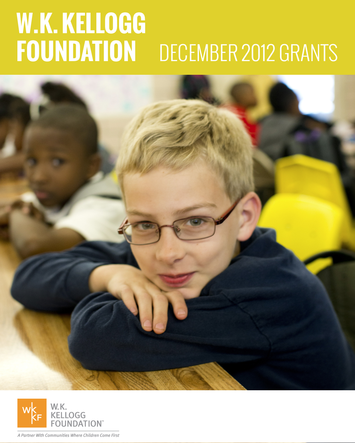 W.K. Kellogg Foundation Grants - December 2012