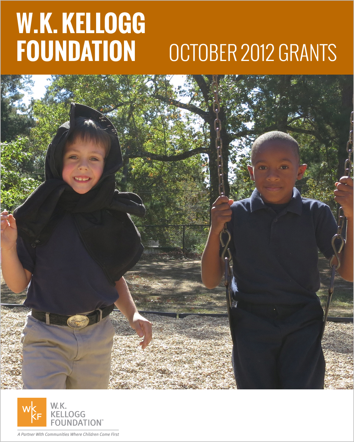 W.K. Kellogg Foundation Grants - October 2012