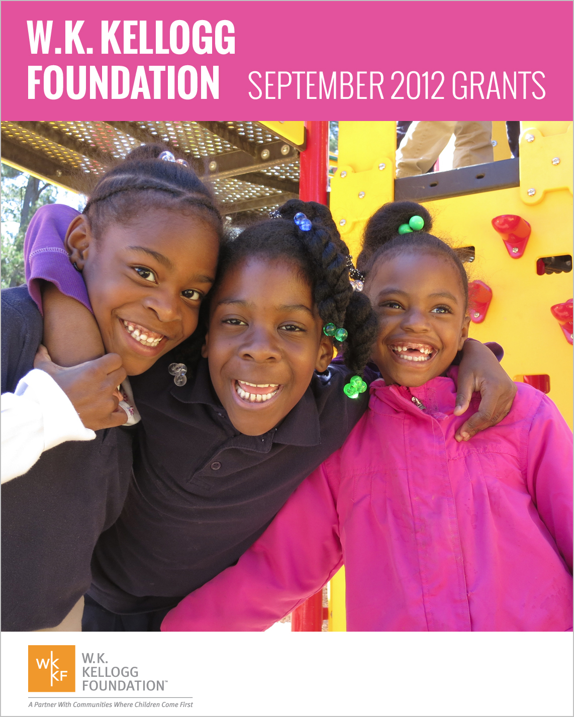 W.K. Kellogg Foundation Grants - September 2012