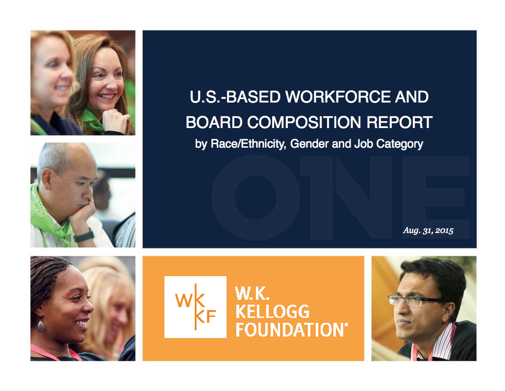 U.S.-Based Workforce and Board Composition Report - W.K. Kellogg Foundation