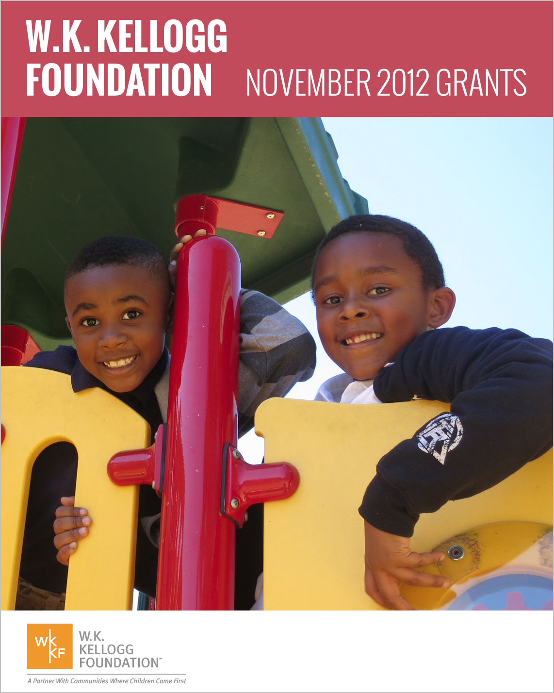 W.K. Kellogg Foundation Grants - November 2012