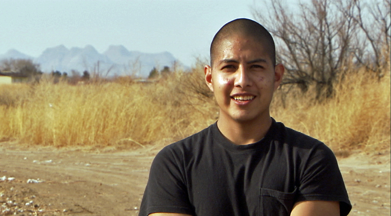 Youth leader Jose Lopez