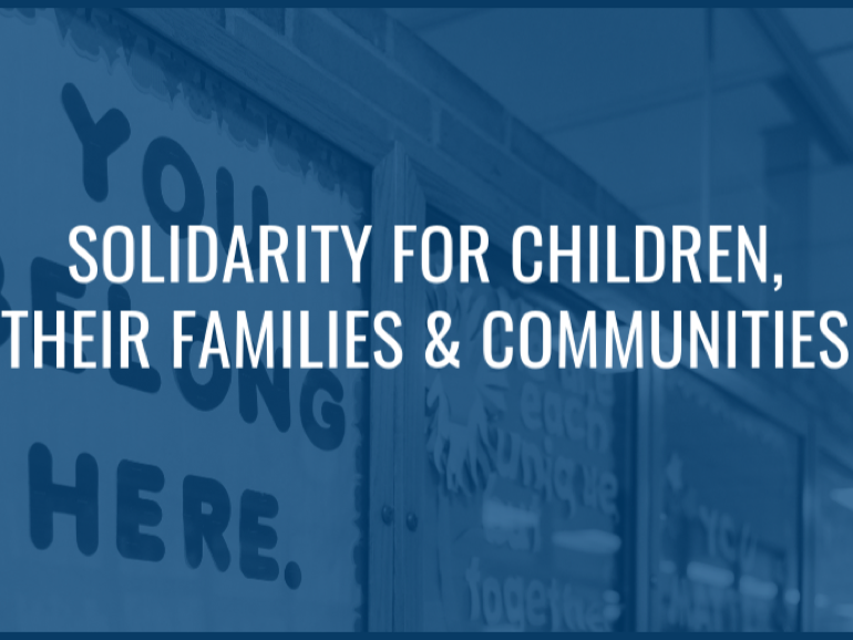 Solidarity for Children, their families and communities